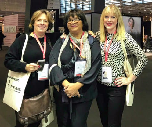 Ellen Lewis, Tina Wilson and Alison Connolly on Lingerie Briefs