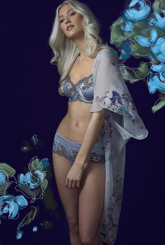 Christine Lingerie and Wacoal Bra and Panties photographedor The Rites of Spring by Stephanie Hynes for Lingerie Briefs