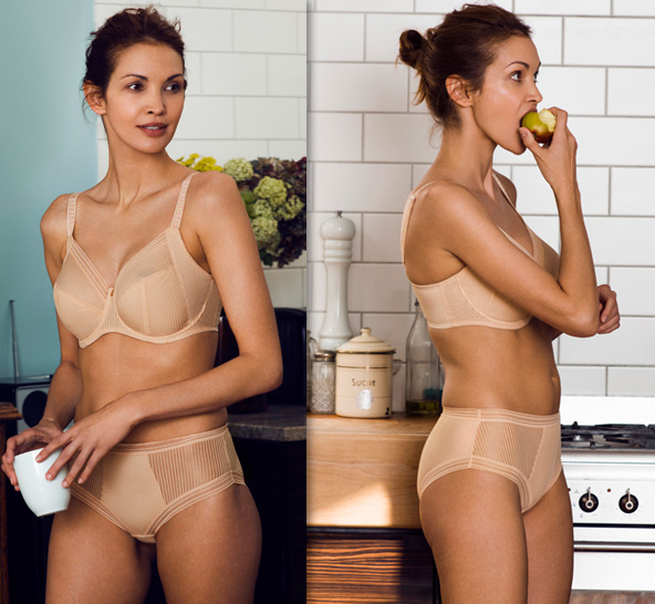 Fusion Underwire Full Cup Side Support Bra by Fantasie