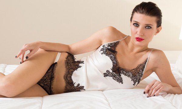 Helen Sánchez Luxury Lingerie - Portia collection as seen on Lingerie Briefs