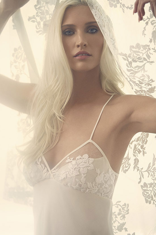 Exclusive images of the Rya Collection photographed by Stephanie Hynes on Lingerie Briefs