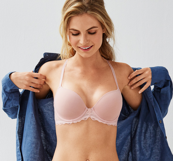 b.tempt'd new Undisclosed Collection SS18 (underwire t-shirt bra) seen on Lingerie Briefs