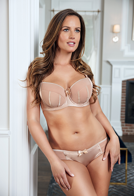Charlotte Bra for full busted sizes 28-40 C-K cups by Parfait Lingerie on Lingerie Briefs