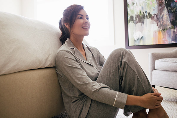 Lusome Classic Luxe PJ with Xirotex moisture evaporating technology on Lingerie Briefs