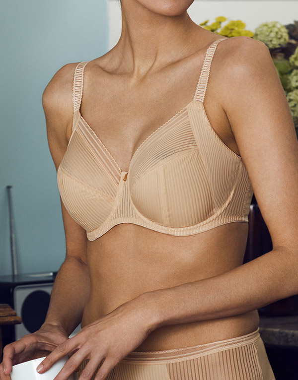 Fantasie Fusion nude Bra as seen on Lingerie Briefs