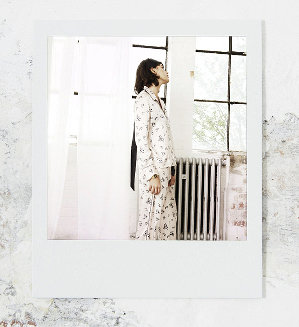 Violet & Wren Luxury silk loungewear Spring 19 collection as featured on Lingerie Briefs