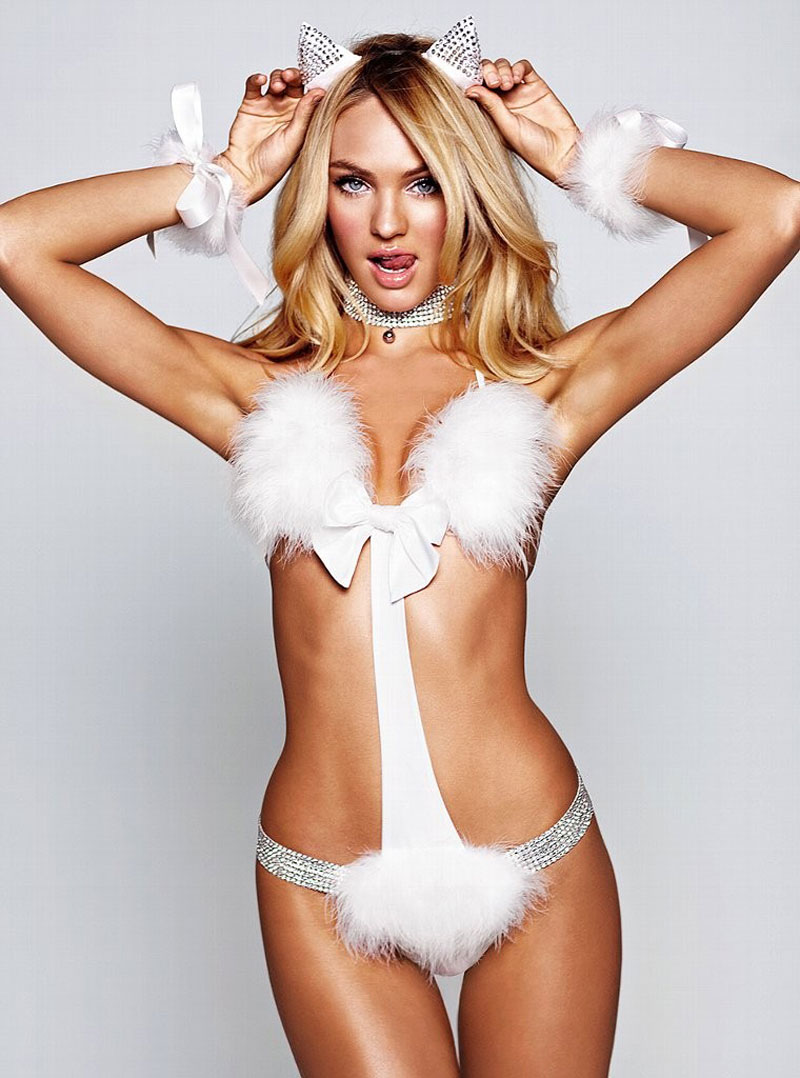 CANDICE SWANEPOEL In Victoria S Secret Lingerie