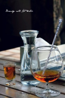 Brandy with Hot Water