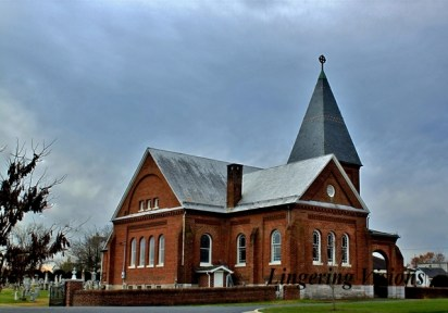 The Lutheran Reformation Church built in 1848