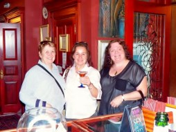 Me with two of my friends in DC celebrating being women and our friendships.