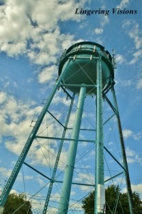 Looking Up at the Strasburg Water Tower