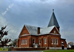 """One of my favorite pictures from my collection """"Shenandoah County Churches"""""""