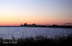 Bay Bridge silhouette(w)