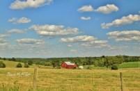 Landscape Red Barn
