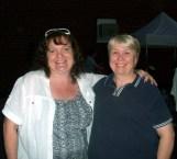 Carole and I at first night Friday, Mt. Jackson