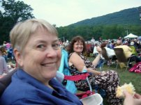 Carole and I @ The Temptations Concert