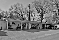 Shenandoah County Store Front Signs in Black and White # (2)
