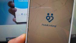ILUSTRASI- Aplikasi PeduliLindungi. FOTO: M. Rain Daling/Lingkar.co