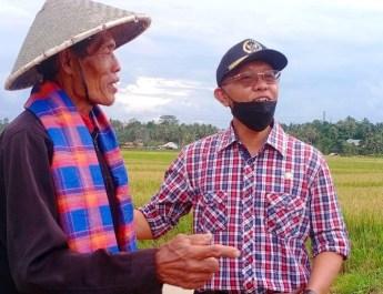 Tinjau Pertanian Di Bukit Raya Tenggarong Seberang, Samsun Pastikan Lahan Pertanian Produktif Kembali
