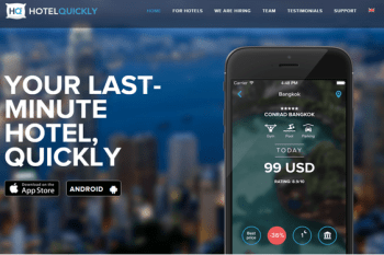 [App]HotelQuickly晚鳥訂房APP-訂房免煩惱還有機會免費住宿!!!(折扣碼CLING143,現折400元)