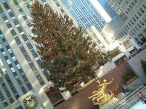 ロックフェラーセンターのツリー