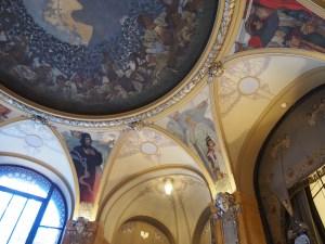 ミュシャの天井画