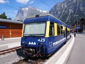 アイガーと列車