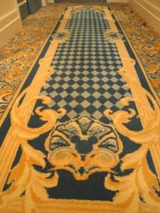 ミラコスタの絨毯