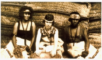 Margaret Mead in Samoa circa 1923