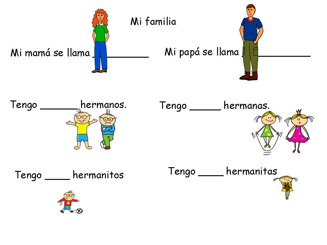 Spanish 101 How Not To Confuse Hermanos Land Of