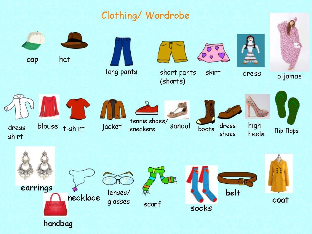 Esl Spanish Activity Teaching Clothing Land Of