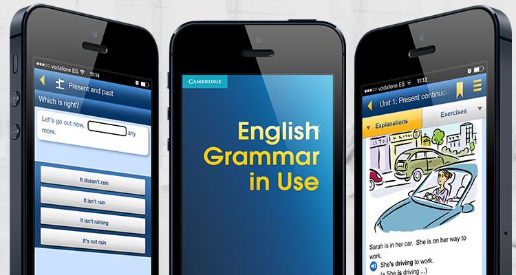english grammar in use app cambridge