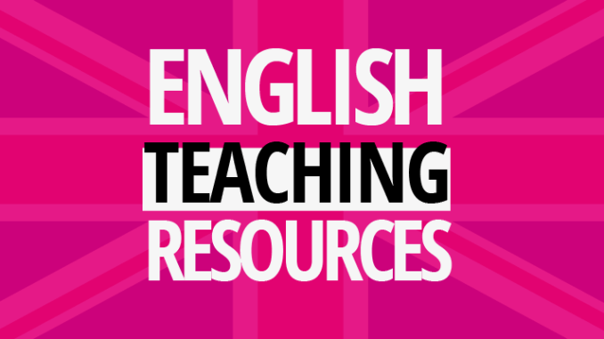 elt english teaching classroom resources