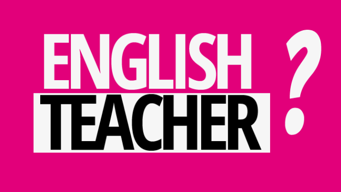 english teacher jobs