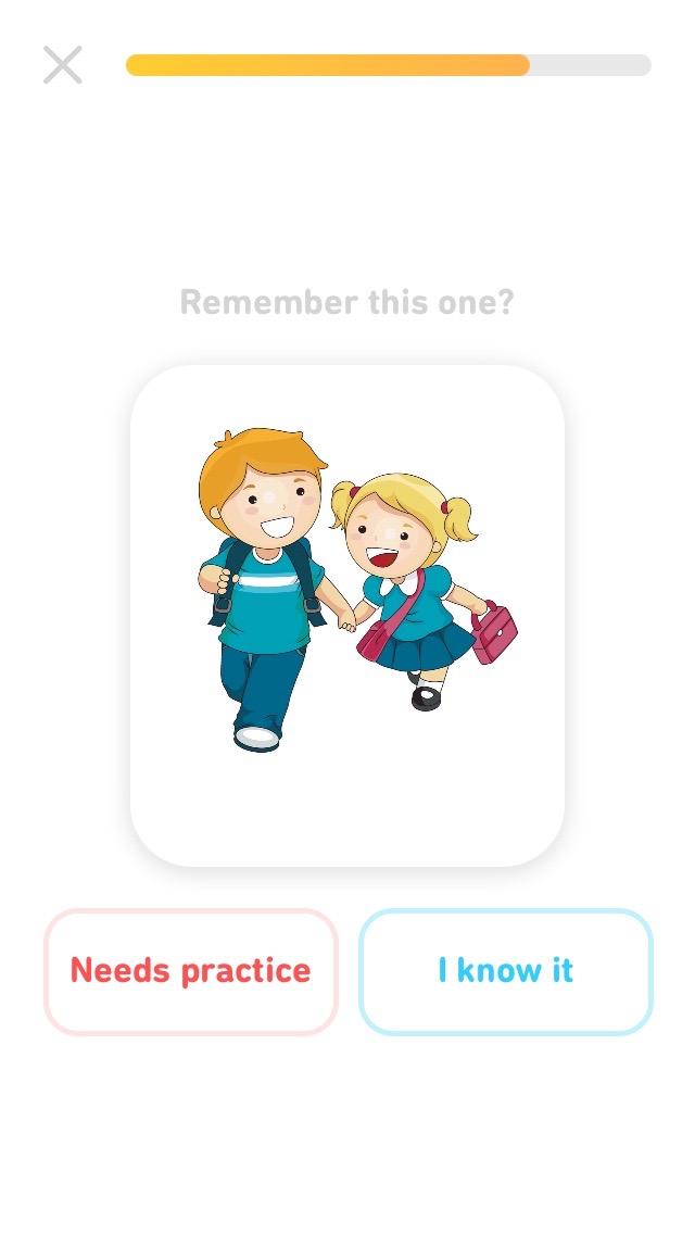 Flash cards для изучения слов Tinycards