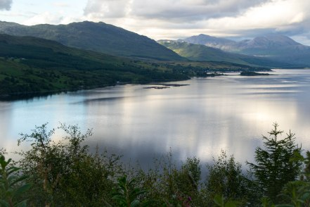 Loch Carron at dusk