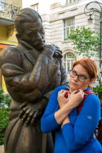 We share a strange love of mimicking statues