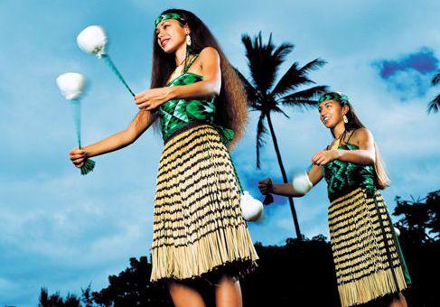английский с Дженифер - Танцы с шарами маори