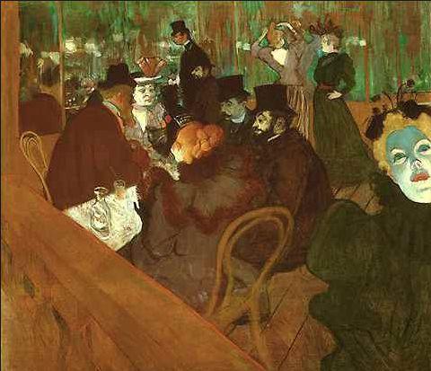 Картинная галерея на английском mouline rouge