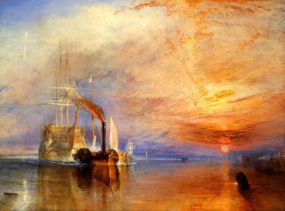 картинная галерея на английском The Fighting Temeraire