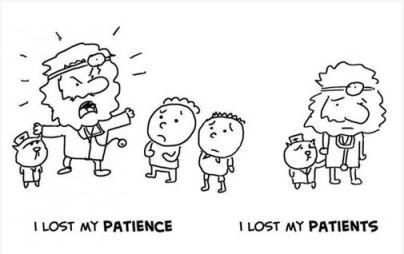 Омофоны в английском - patience - patients