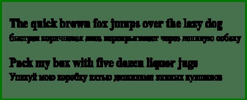 Английский алфавит. Панграммы