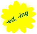 миниатюра к записи окончания в английском