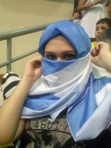 Nath, muçulmana e argentina!