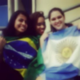 As peregrinas do Sul Americano