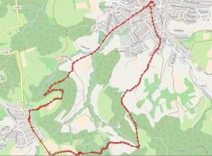 Heike´s Rundwanderung in Waldstetten