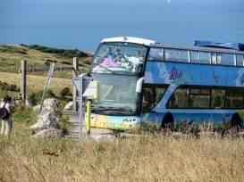 Cbrio-Bus Linie 5 bei Calais.