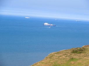 Aussicht auf die Meeresautobahn