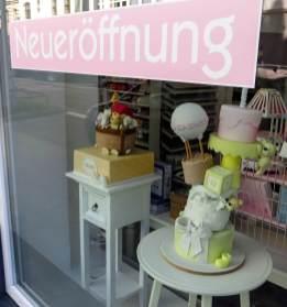Neueröffnete Tortenboutique.