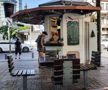 Kaffee-Kiosk am Rothschild Boulevard,